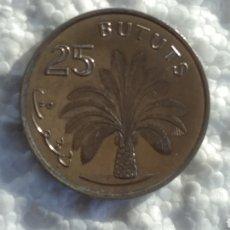 Moedas antigas de África: GAMBIA 25 BUTUTS 1998 CALIDAD SC. Lote 124230302