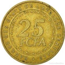 Monedas antiguas de África: 25 FRANCOS, 2006 ETATS DE L´ÁFRICA CENTRALE - CMAC - FCFA 25 FRANCOS, 2006 25 FRANCS AFRICA (1). Lote 126074843