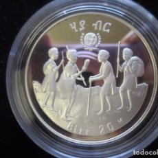 Monedas antiguas de África: ETIOPIA 20 BIRR 1980. Lote 126263271