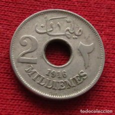 Monedas antiguas de África: EGYPT EGIPTO 2 MIL. 1335 1916 H L3-5. Lote 128270535