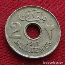 Monedas antiguas de África: EGYPT EGIPTO 2 MIL. 1335 1917 H L2-5. Lote 128270707