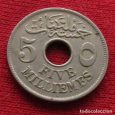Monedas antiguas de África: EGYPT EGIPTO 5 MIL. 1335 1916 H 2L3-2. Lote 128270867
