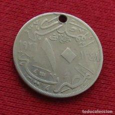 Monedas antiguas de África: EGYPT EGIPTO 10 MIL. 1348 1929 2L4-1. Lote 128271739