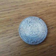 Monedas antiguas de África: MARRUECOS. 5 DIRHAM DE PLATA DE 1918, 1336 AÑO DE LA HÉGIRA. Lote 131582578