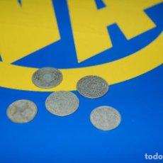 Monedas antiguas de África: MONEDAS DE 5 FRANCS MAROC + 2 FRANCS MAROC-LOTE DE 5 MONEDAS. Lote 133505502