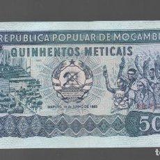 Monedas antiguas de África: MOZAMBIQUE = 500 METICAIS 1980. Lote 133592062