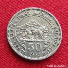 Monedas antiguas de África: AFRICA ORIENTAL 50 CENTS 1952. Lote 133677706