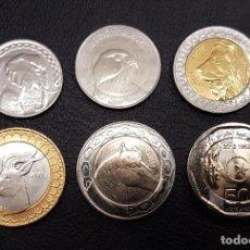 Monedas antiguas de África: ARGELIA ALGERIA SET 6 MONEDAS 5 10 20 50 100 200 DINARS 2016-2018 KM NUEVO BIMETÁLICAS SC UNC. Lote 135337214