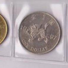 Monedas antiguas de África: MONEDAS EXTRANJERAS - HONG KONG 10-20-50 CTS. 1-2 Y 5 DOLLARS 1997 - KM-64-5-6-7-8-9 - (SC-). Lote 135407530
