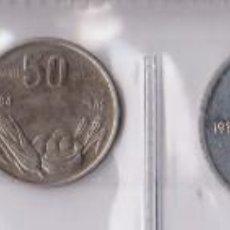 Monedas antiguas de África: MONEDAS EXTRANJERAS - SOMALIA - 5-10 1976 -SENTI 50 SENTI 1 SHILLING 1984 - 1 SCILLINO 1967 (EBC/SC). Lote 135409618