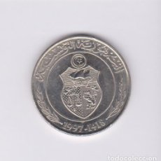 Monedas antiguas de África: MONEDAS EXTRANJERAS - TUNEZ - 1 DINAR 1997 - KM-347 (SC-). Lote 136670178