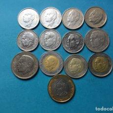 Monedas antiguas de África: 1168 ) MARRUECOS,,13 MONEDAS DE 1-2-5-10 DINARES,, EN MUY BUEN ESTADO,,. Lote 137540012