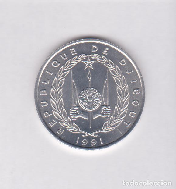 Monedas antiguas de África: MONEDAS EXTRANJERAS - DJIBOUTI - 5 FRANCS 1991 - KM-22 (SC) - Foto 2 - 139226718