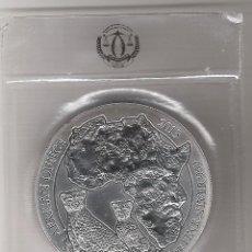 Monedas antiguas de África: RUAND, RUANDA. 5O FR. PLATA (31,10 GRS LEY 999 MLS), 2013 LEOPARDO, S/C ESCASA. Lote 139806422