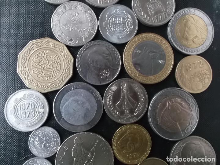 Monedas antiguas de África: coleccion de monedas diferentes de Algeria muy buena coleccion - Foto 4 - 155719141
