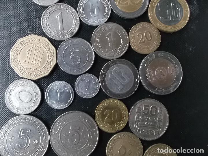 Monedas antiguas de África: coleccion de monedas diferentes de Algeria muy buena coleccion - Foto 8 - 155719141