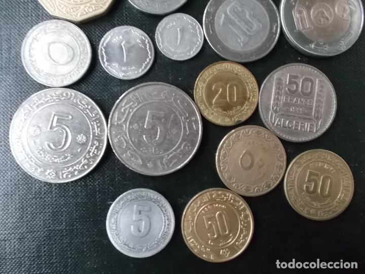 Monedas antiguas de África: coleccion de monedas diferentes de Algeria muy buena coleccion - Foto 9 - 155719141