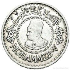 Monedas antiguas de África: MARRUECOS. MOHAMMED V. 500 FRANCOS. 1956 (1376 H).. Lote 142671728