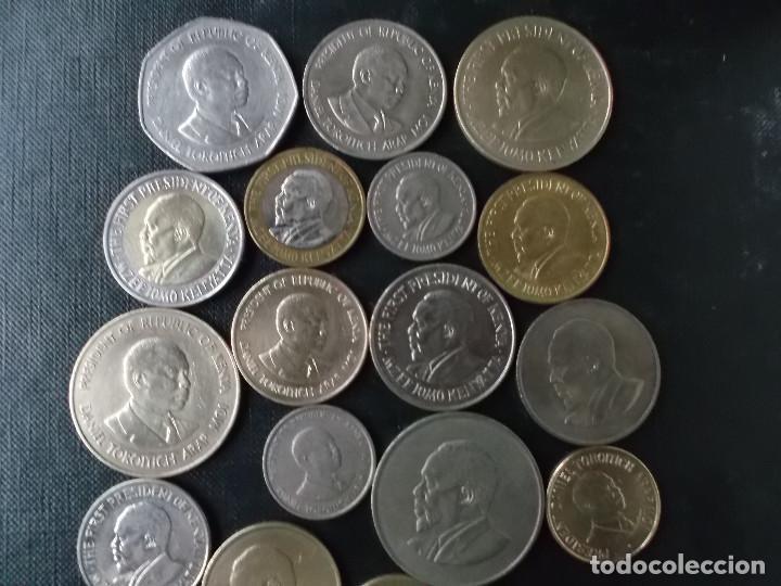Monedas antiguas de África: coleccion de monedas de kenia - Foto 3 - 142752154