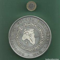 Monedas antiguas de África: PLATA-GUINEA ECUATORIAL. MONEDA DE 1 KILO PLATA PURA. 15000 FRANCS 1992. Lote 143877422