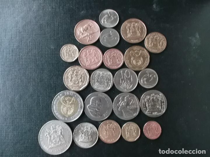 Monedas antiguas de África: coleccion de monedas muy diversa de Sudafrica - Foto 2 - 143899502