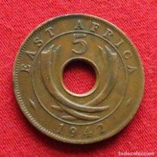 Monedas antiguas de África: AFRICA ORIENTAL 5 CENTS 1942 SA 1942SA. Lote 144409106