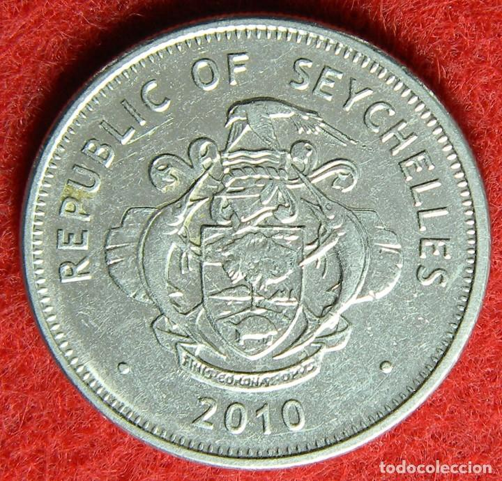 Seychelles – 1 rupee – 2010 - krause #uc 3 - Sold through Direct