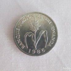 Monedas antiguas de África: RWANDA 1 FRANCO 1985. Lote 146551538