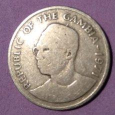 Monedas antiguas de África: MONEDA 25 BUTUTS GAMBIA. Lote 146857010