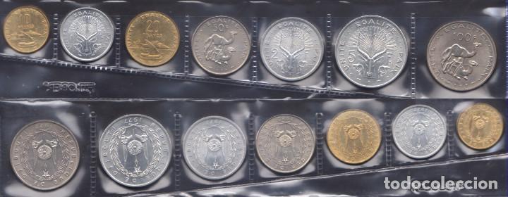 DJIBUTI - SERIE COMPLETA - 1977/82/83 - CALIDAD BU (Numismática - Extranjeras - África)