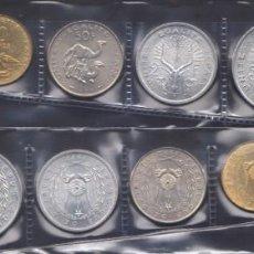 Monedas antiguas de África: DJIBUTI - SERIE COMPLETA - 1977/82/83 - CALIDAD BU. Lote 147894778