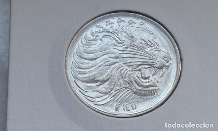 Monedas antiguas de África: ETIOPIA 50 SANTEEM 2008 - Foto 2 - 148441242