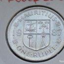 Monedas antiguas de África: MAURICIO 1 RUPIA 1987. Lote 148484778