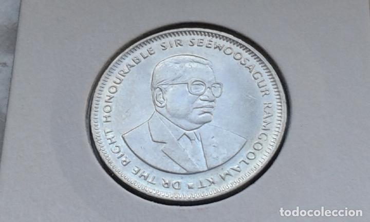 Monedas antiguas de África: MAURICIO 1 RUPIA 1987 - Foto 2 - 148484778