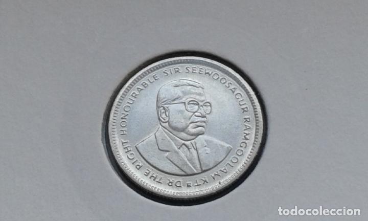 Monedas antiguas de África: MAURICIO 20 CENTAVOS 1987 - Foto 2 - 160577324