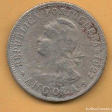 Monedas antiguas de África: ANGOLA - 50 CENTAVOS 1927 - OCASION. Lote 148688386