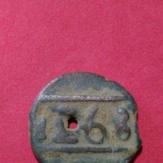 Monedas antiguas de África: MARRUECOS. 1 FELUS DEL MOULAY ABD AL RAHMAN. 1268 HEGIRA. 1852 AC.. Lote 149318810