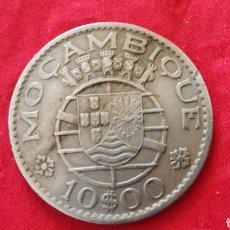 Monedas antiguas de África: 10 ESCUDOS DE MOZAMBIQUE 1970. Lote 149579937