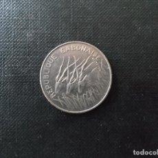 Monedas antiguas de África: MONEDA DE 100 FRANCOS DE GABON ESCASA. Lote 149919442