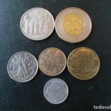 Monedas antiguas de África: COLECCION DE MONEDAS DE ETHIOPIA . Lote 149920738
