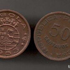 Monedas antiguas de África: ANGOLA - 50 CENTAVOS 1953 - KM75. Lote 150288762
