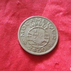 Monedas antiguas de África: 2,5 ESCUDOS DE MOZAMBIQUE 1965. Lote 150955688