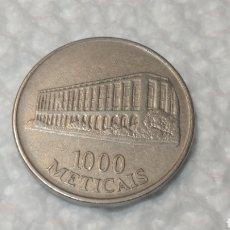 Monedas antiguas de África: MOZAMBIQUE 1000 METICAIS. Lote 151041280