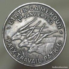 Monedas antiguas de África: 50 FRANCOS CAMERUN 1960. Lote 151727826