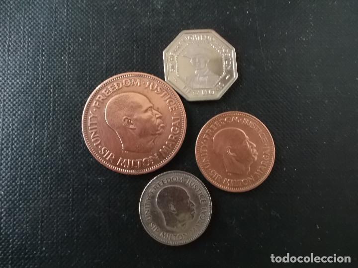 MONEDAS DE SIERRA LEONE ANTIGUAS DIFICILES (Numismática - Extranjeras - África)