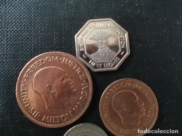 Monedas antiguas de África: monedas de Sierra Leone antiguas dificiles - Foto 3 - 153159910