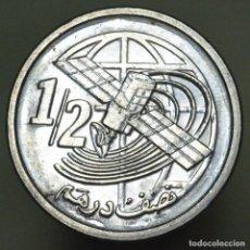 Monedas antiguas de África: 1/2 DIRHAM MARRUECOS 2002 - PRACTICAMENTE SIN CIRCULAR. Lote 154535634