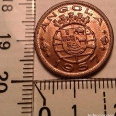 Monedas antiguas de África: MONEDA ANGOLA. 50 CENTAVOS 1957.. Lote 155184710