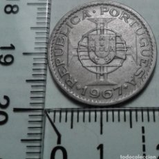 Monedas antiguas de África: MONEDA ANGOLA. 2,50 ESCUDOS 1967.. Lote 155185306