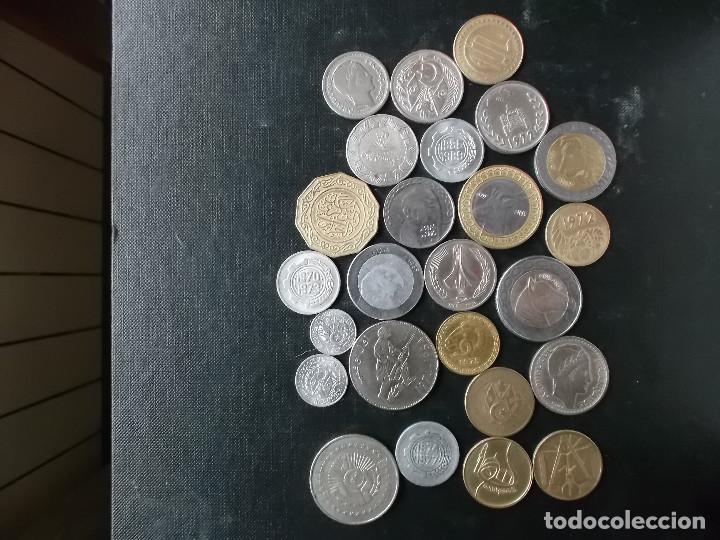 Monedas antiguas de África: coleccion de monedas diferentes de Algeria muy buena coleccion - Foto 2 - 155719141